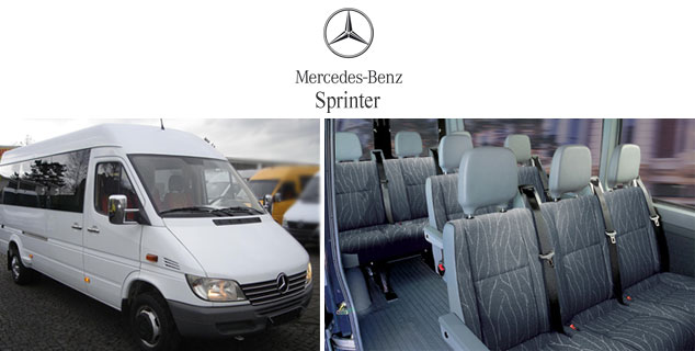Full size sprinter for rent autos weblog for Mercedes benz sprinter rental price